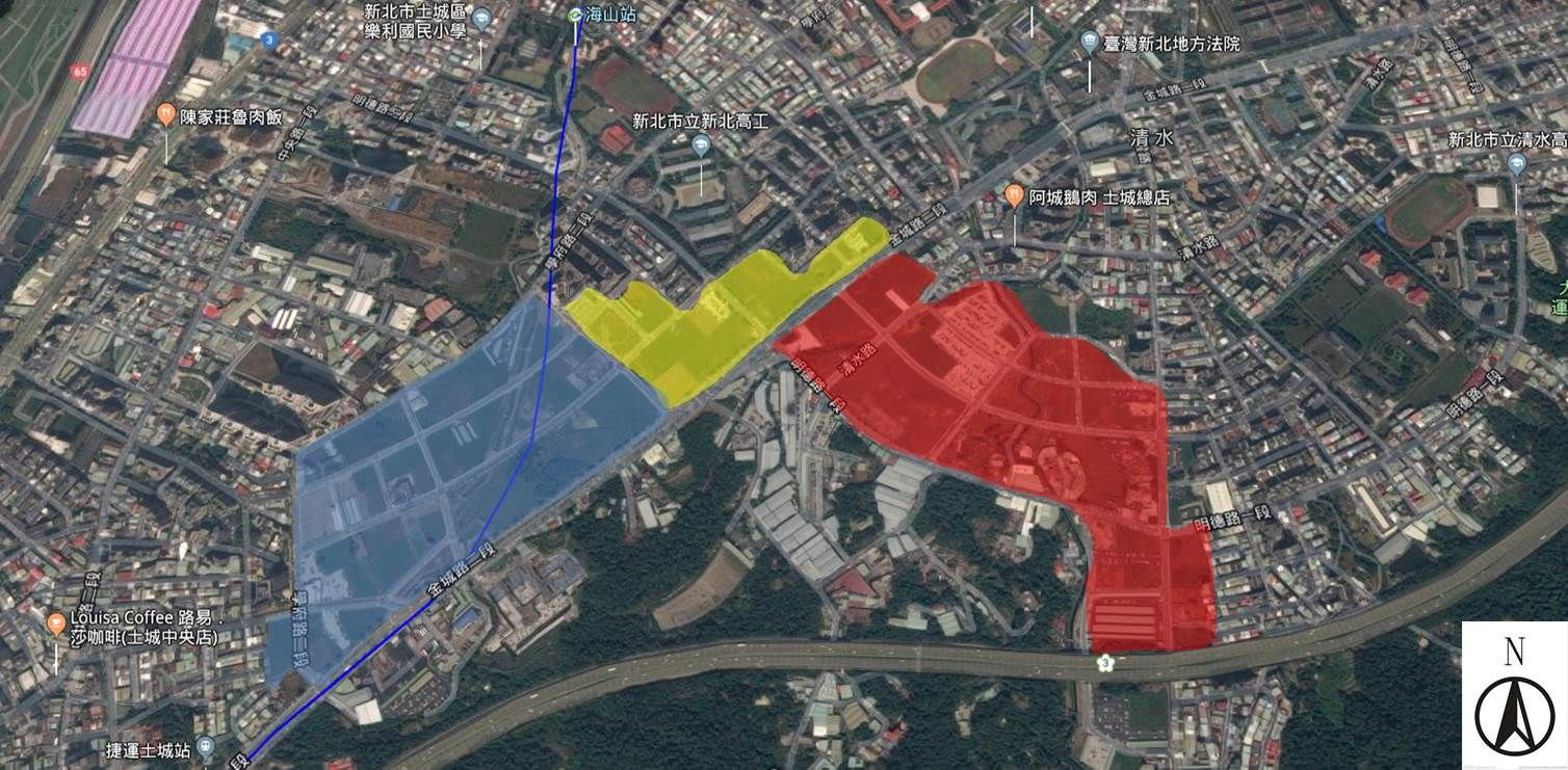 土城暫緩發展區。介紹 (107.11)